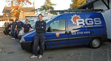 Registered Gas and Plumbing Services Team